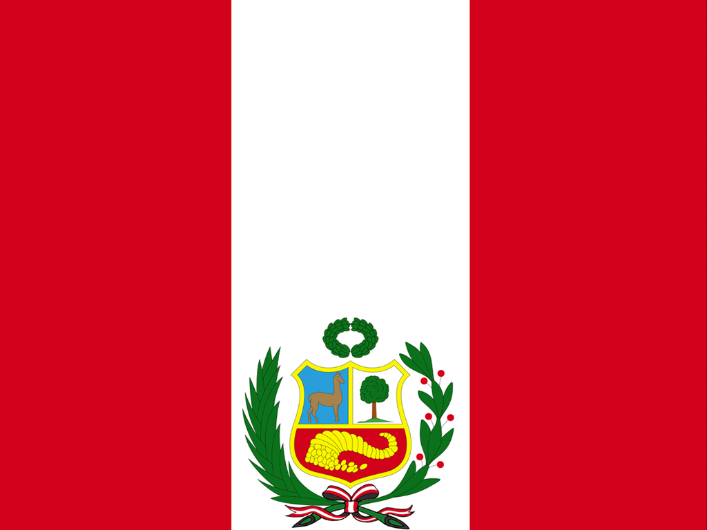 Peru Country Flag Presentation PPT templates