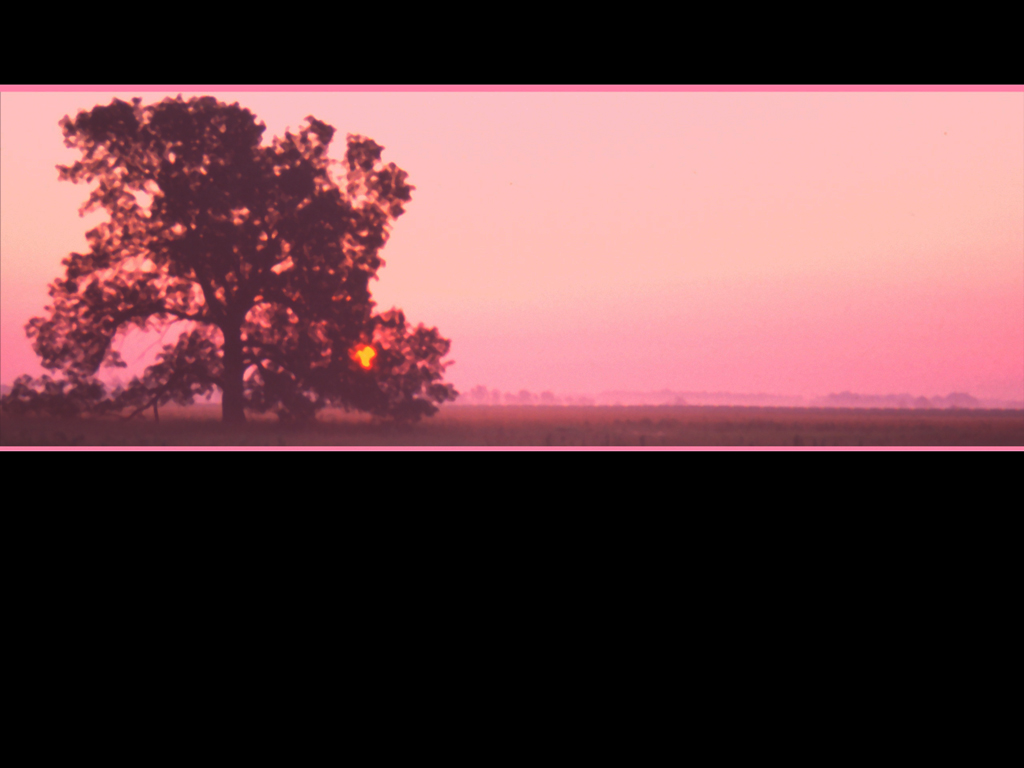 Prairie Sunrise Black PPT templates