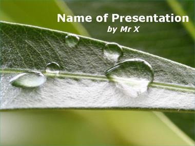 Rain Inspiration Powerpoint PPT templates