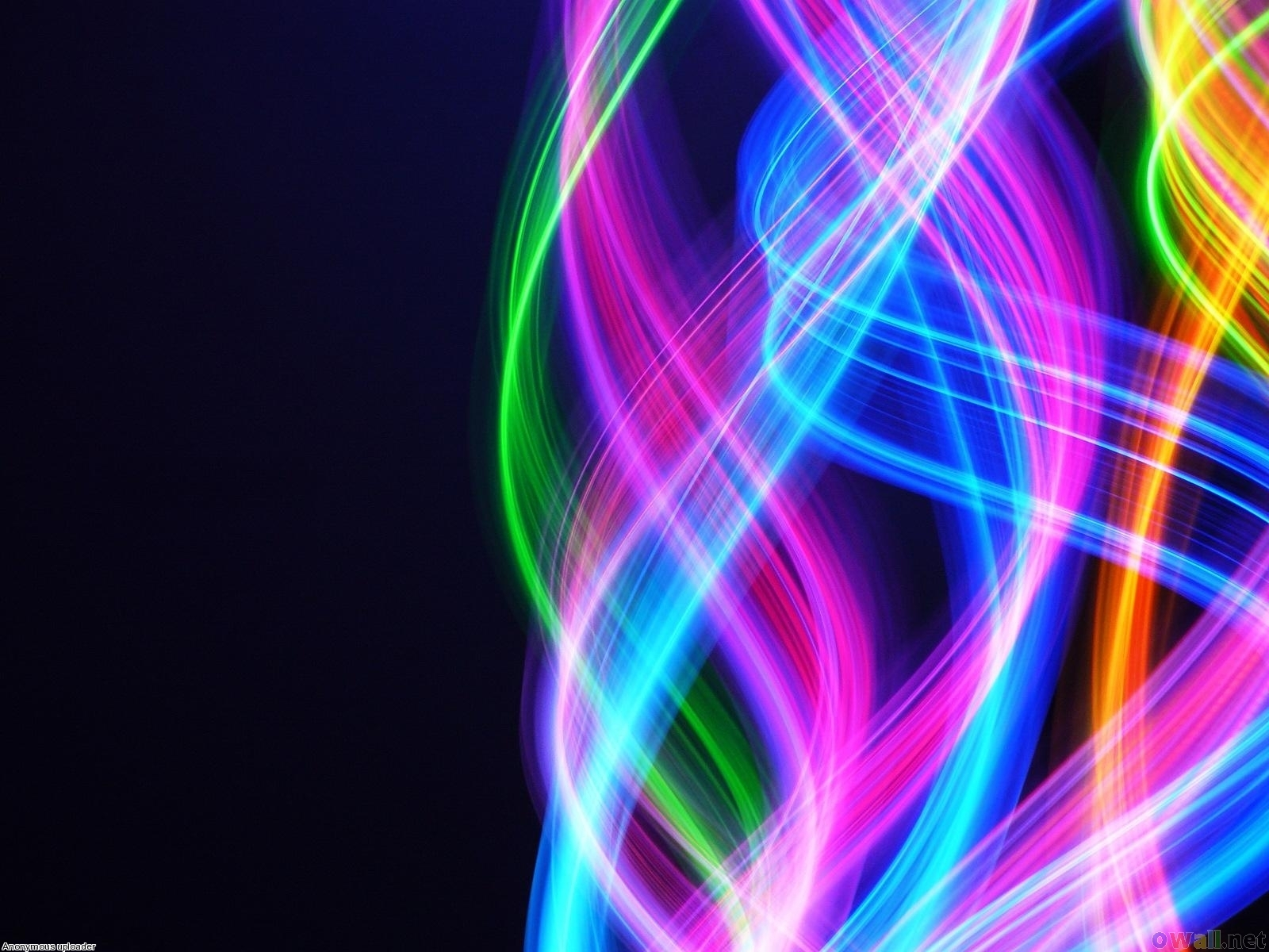 Rainbow Motion Blur PPT templates