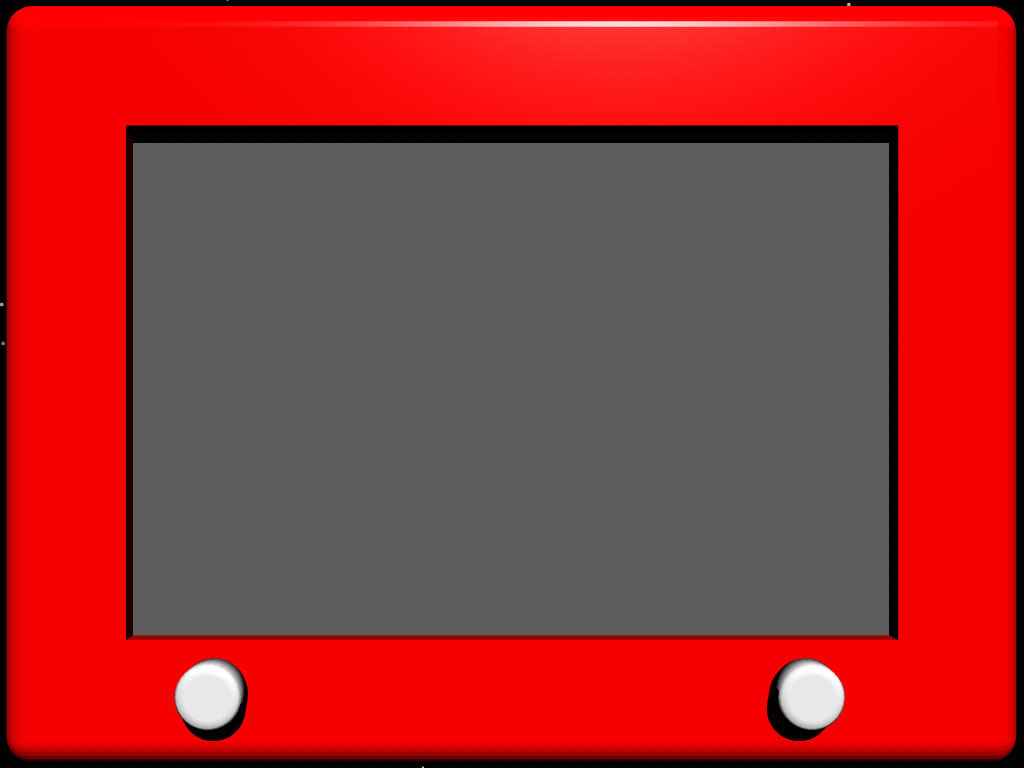 Red Television PPT templates