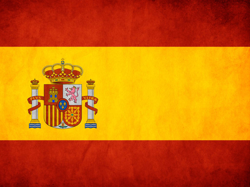 Spain Flag in PowerPoint PPT templates
