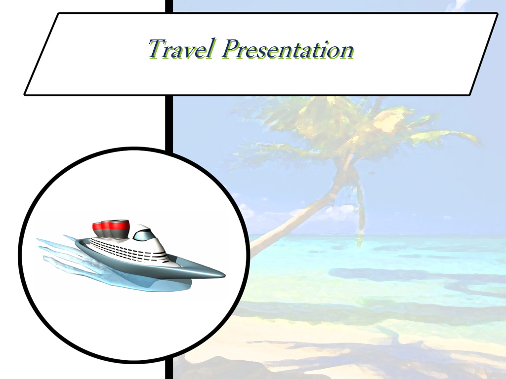 Business Travel presentation PPT templates
