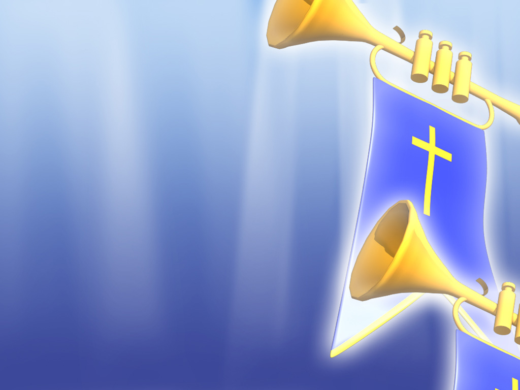 Trumpets of god PPT templates