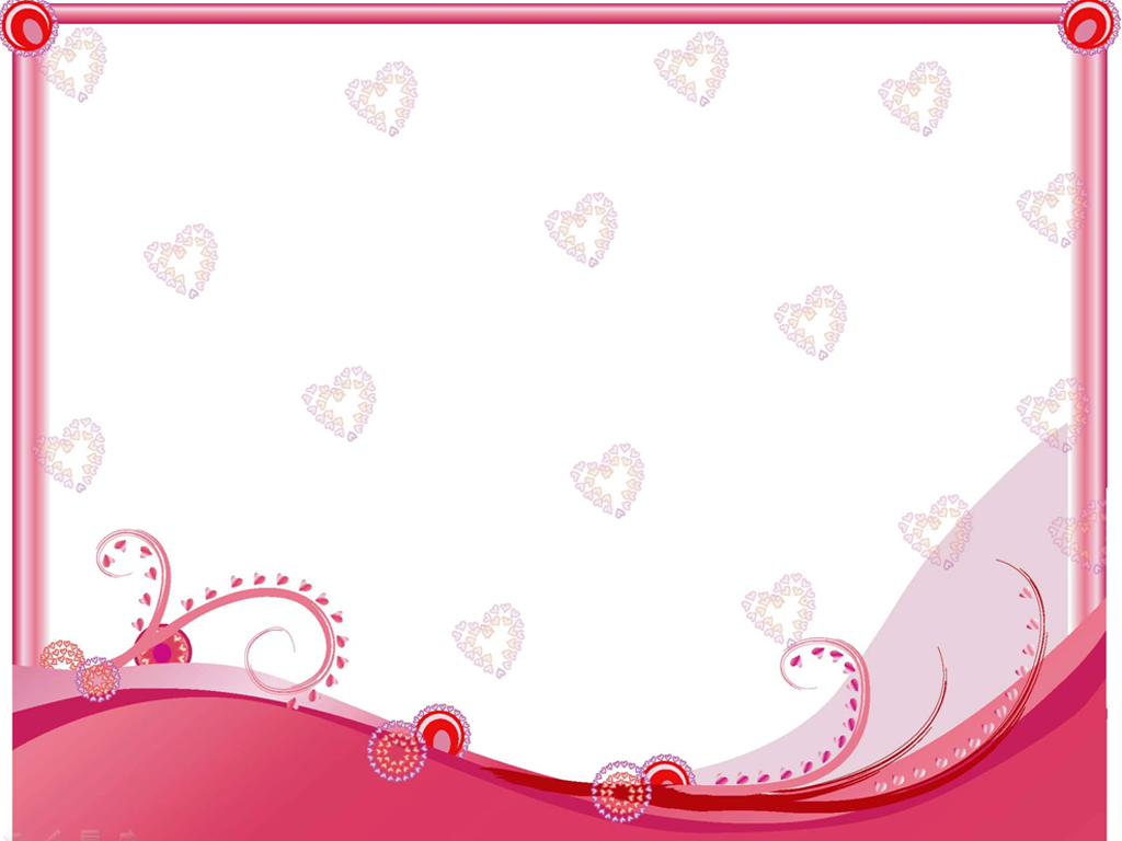 Free Heart Wedding Ppt Template for Powerpoint Presentation