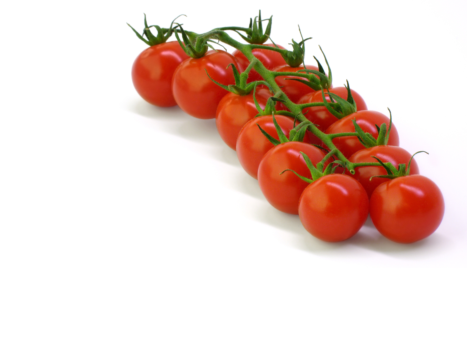Cherry tomato PPT Backgrounds