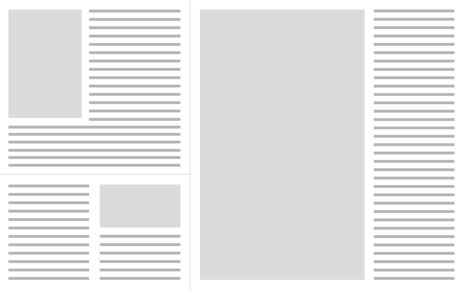 News Paper Template PPT Backgrounds