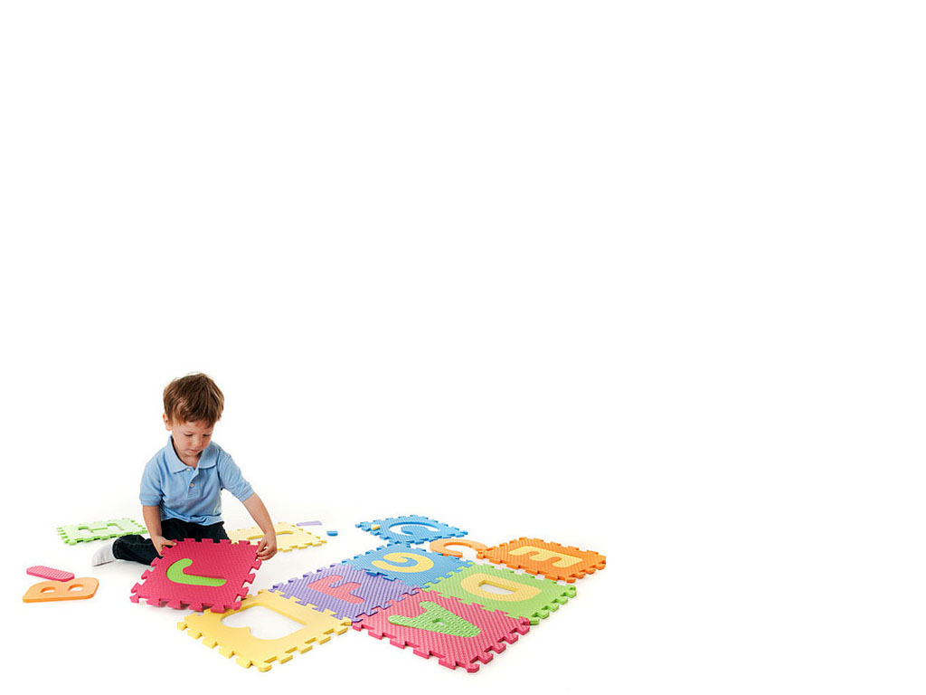 Kindergarten Young boy with Game PPT Backgrounds