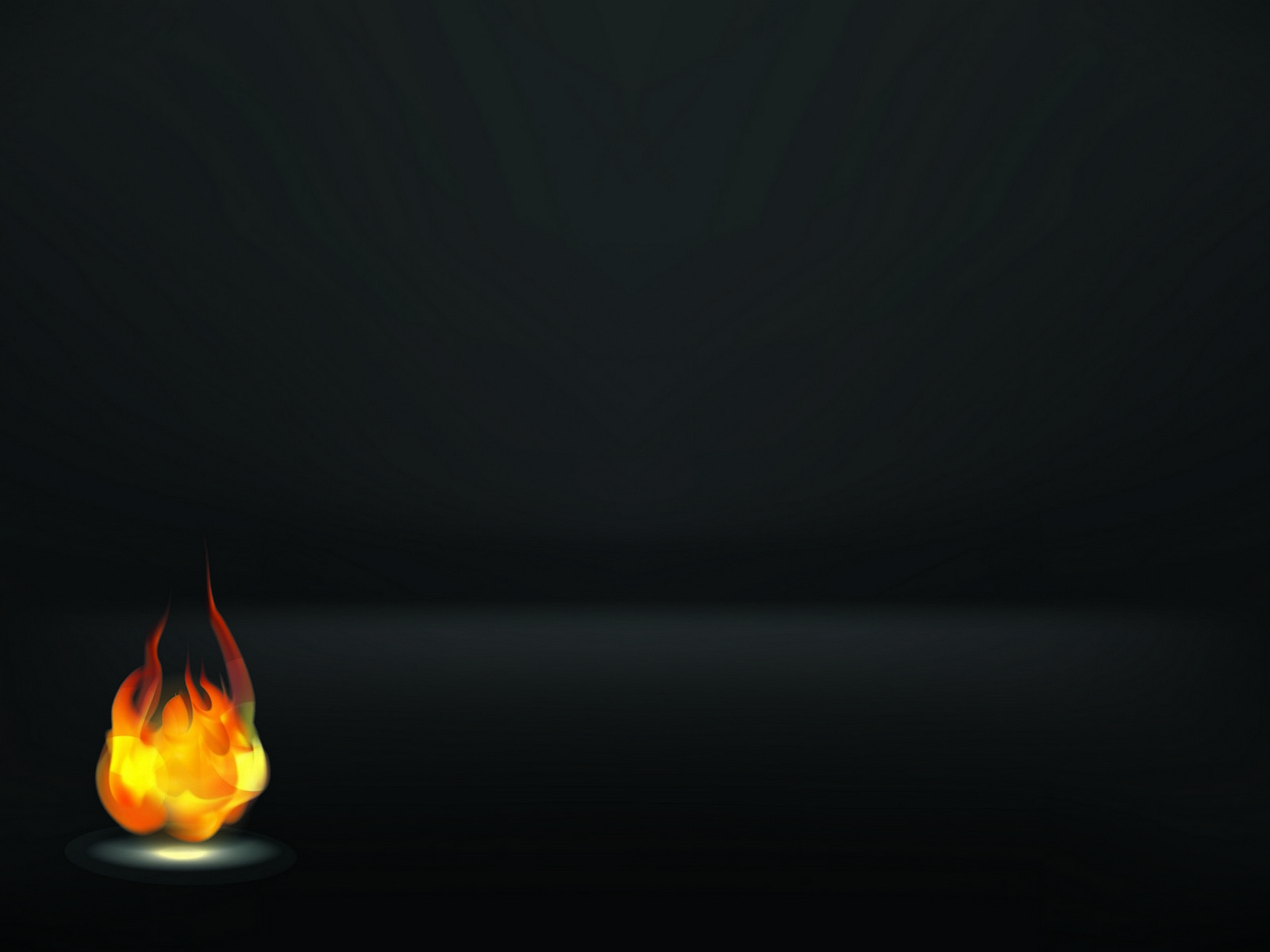 A Fire Flame Background PPT Backgrounds