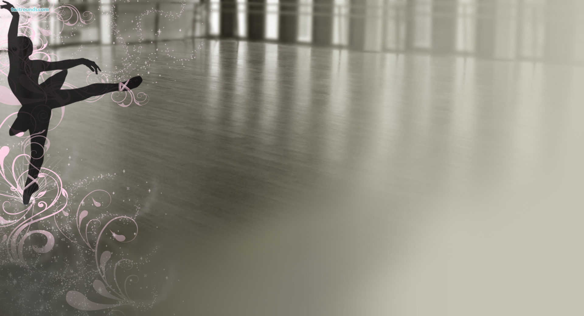 Ballet of Dance PPT Backgrounds