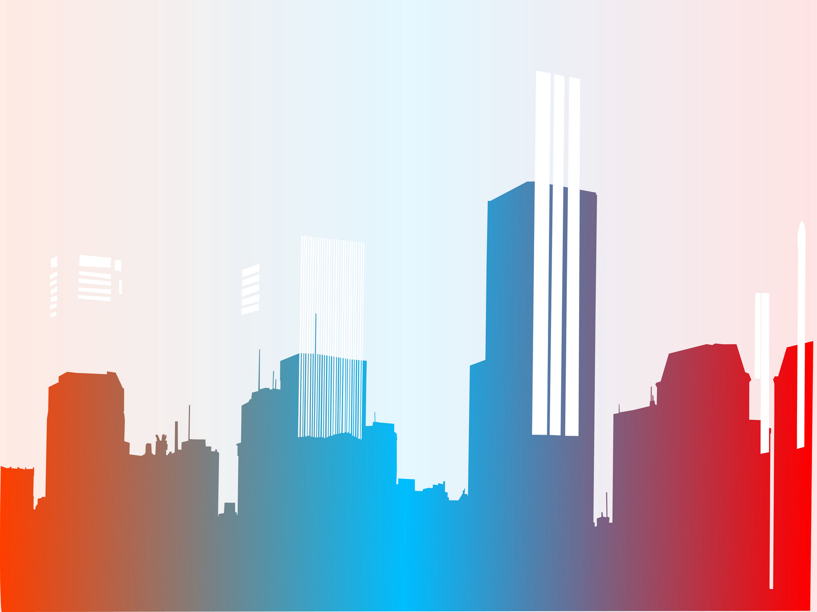Big City Chaos PPT Backgrounds