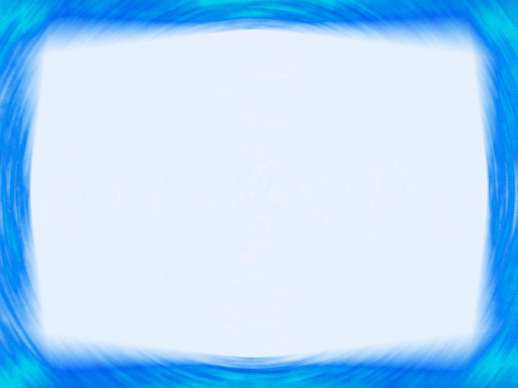 Blue Presentation Frame