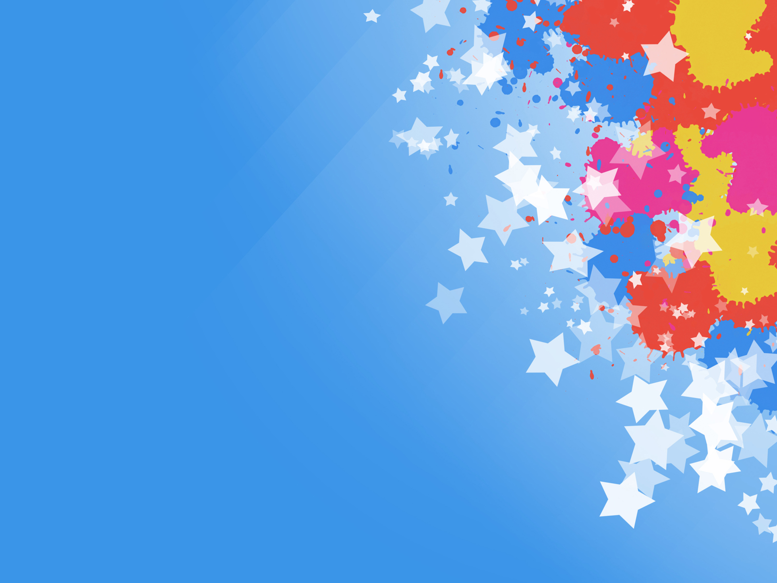 Celebration Effect PPT Backgrounds