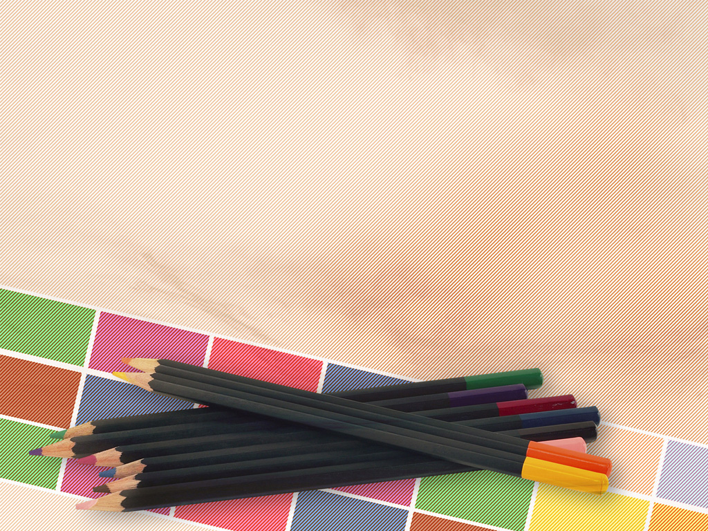 Colorful pencils on education PPT Backgrounds