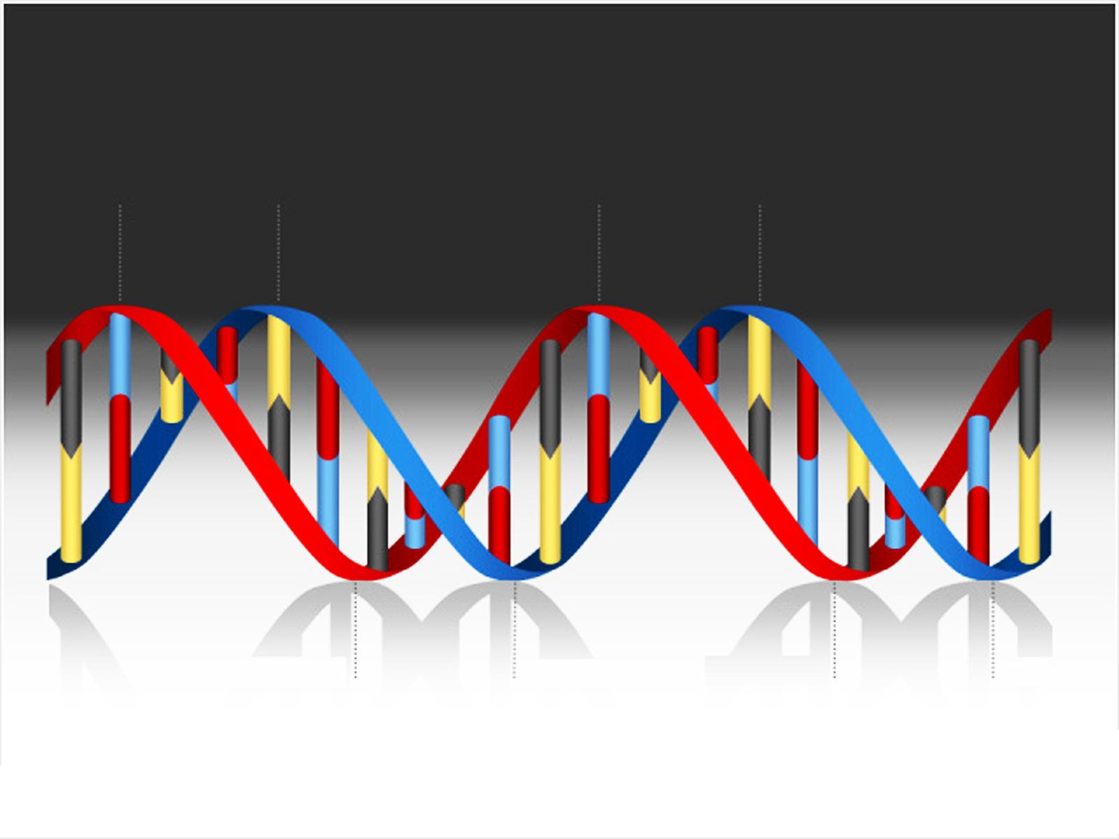DNA Medical Helix PPT Backgrounds
