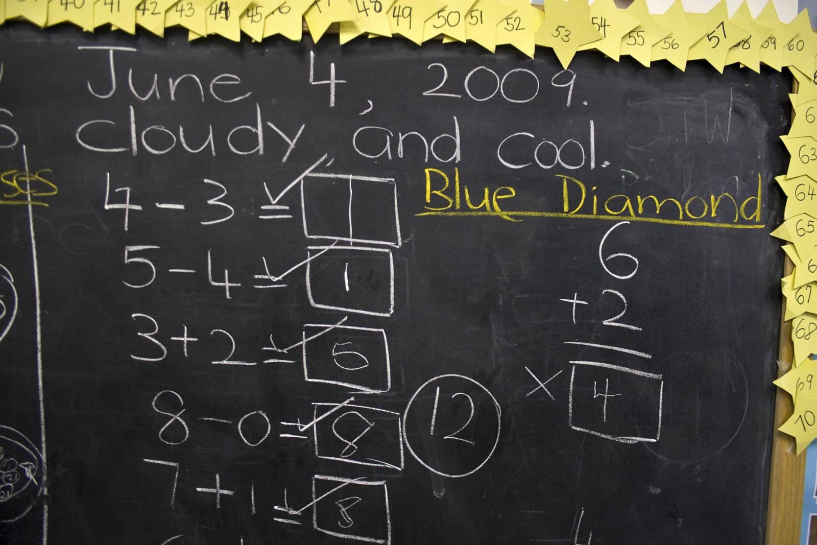 Education black board PPT Backgrounds