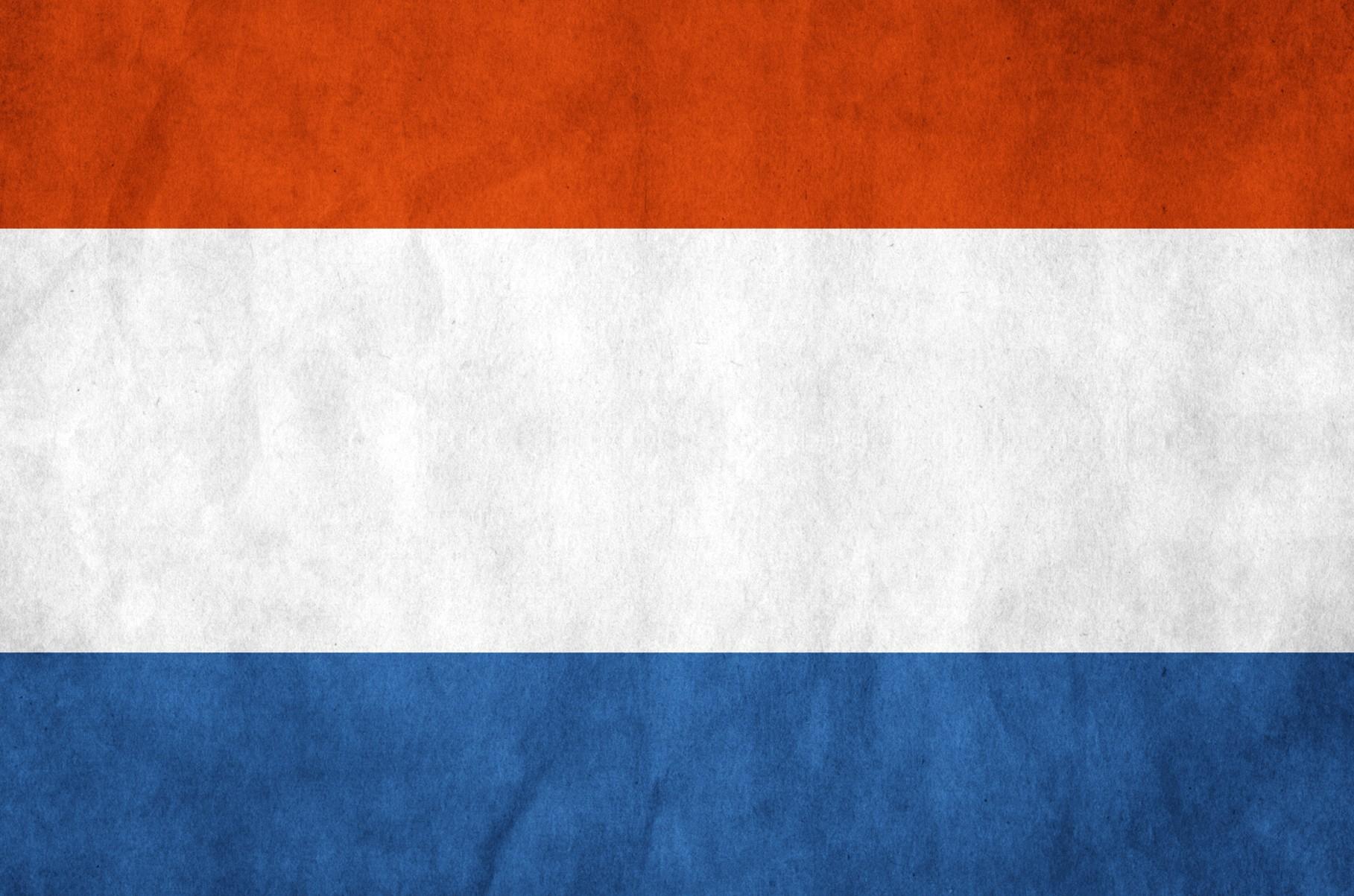 Flag of Netherlands PPT Backgrounds