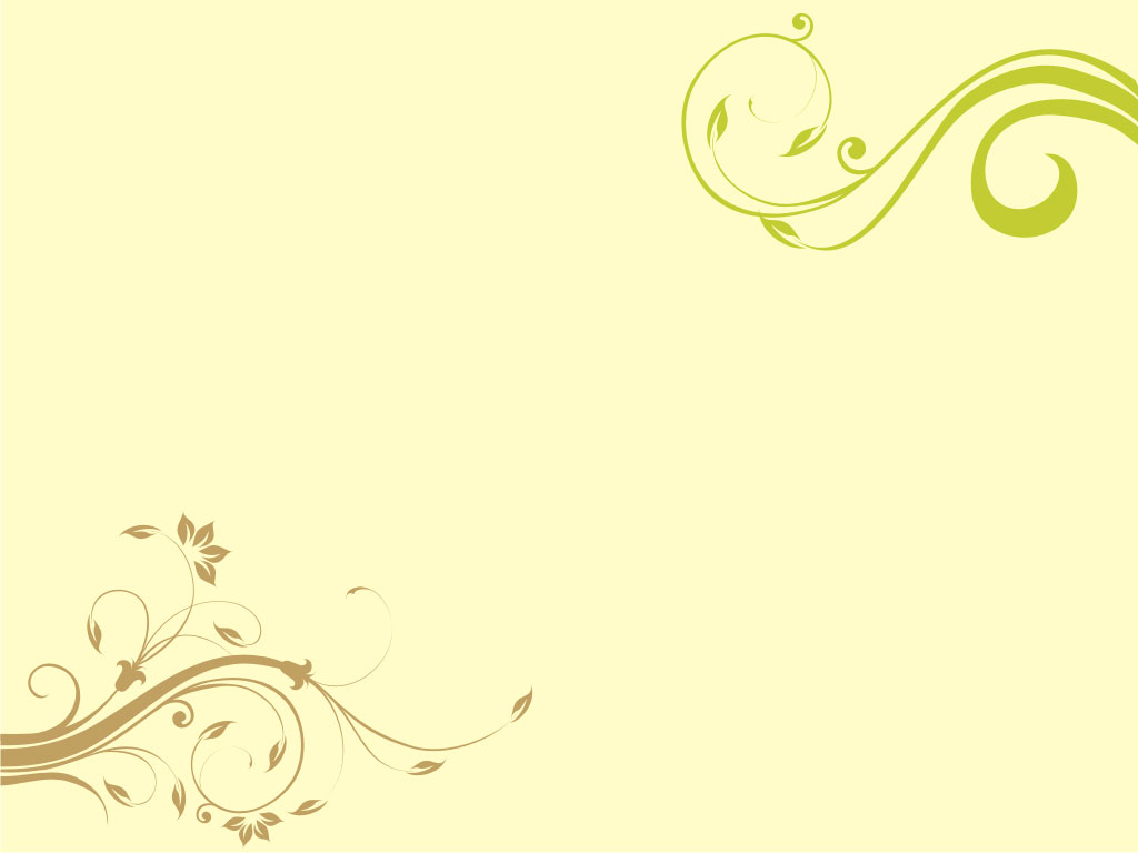 Floral Clip Art PPT Backgrounds