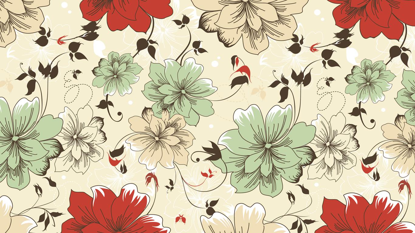 Flower leaf tissues PPT Backgrounds