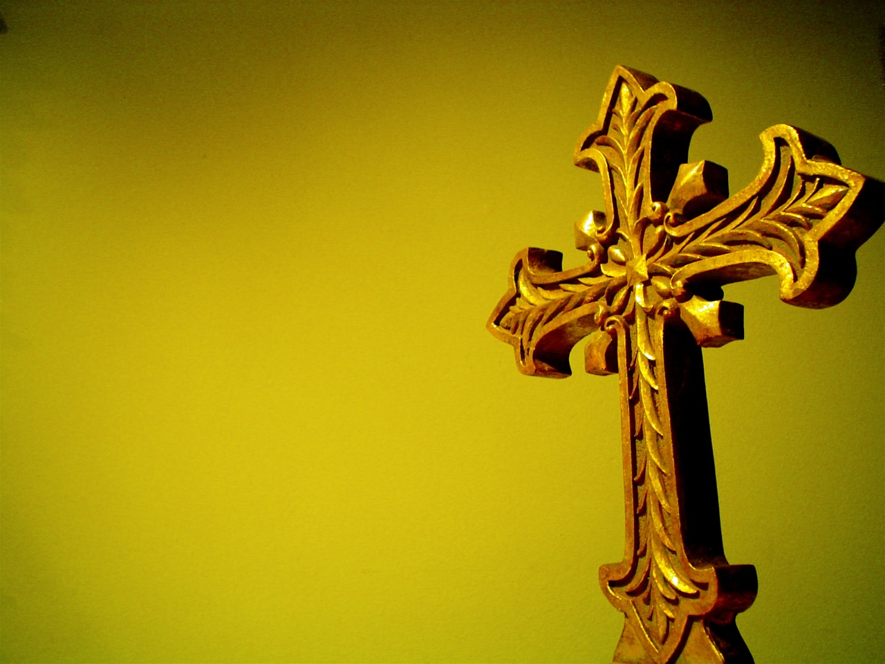 Gold Christian PPT Backgrounds