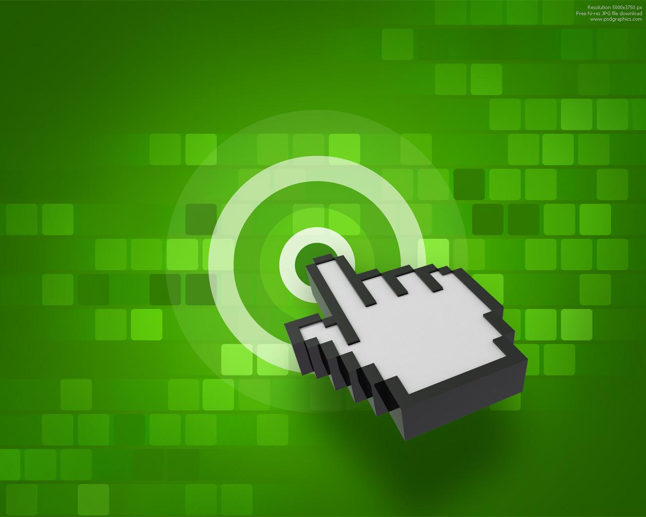 Green Digital Tech PPT Backgrounds