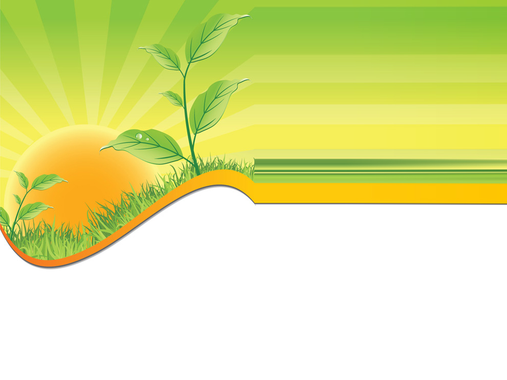 Green agriculture text PPT Backgrounds