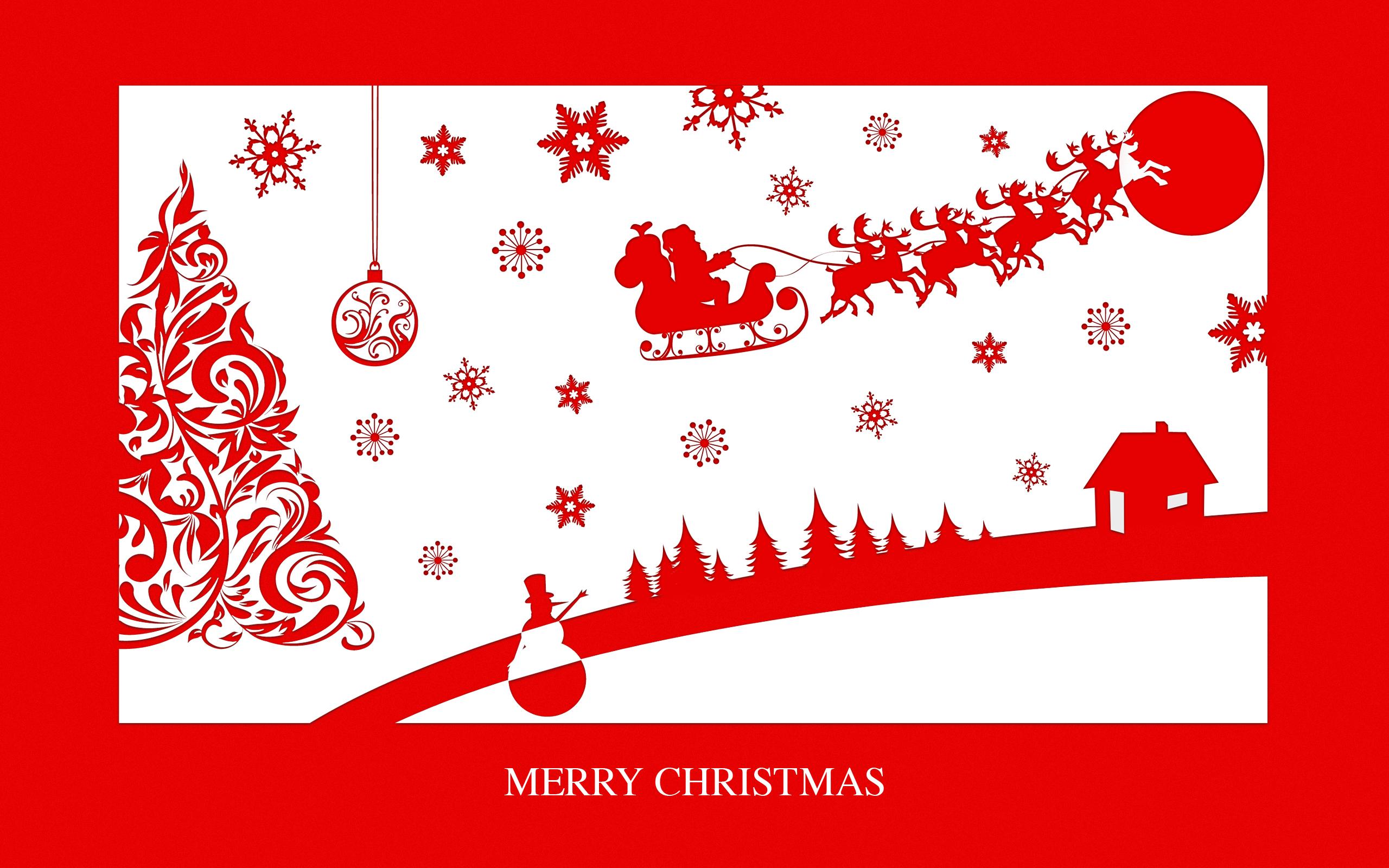 Merry Christmas, Clipart