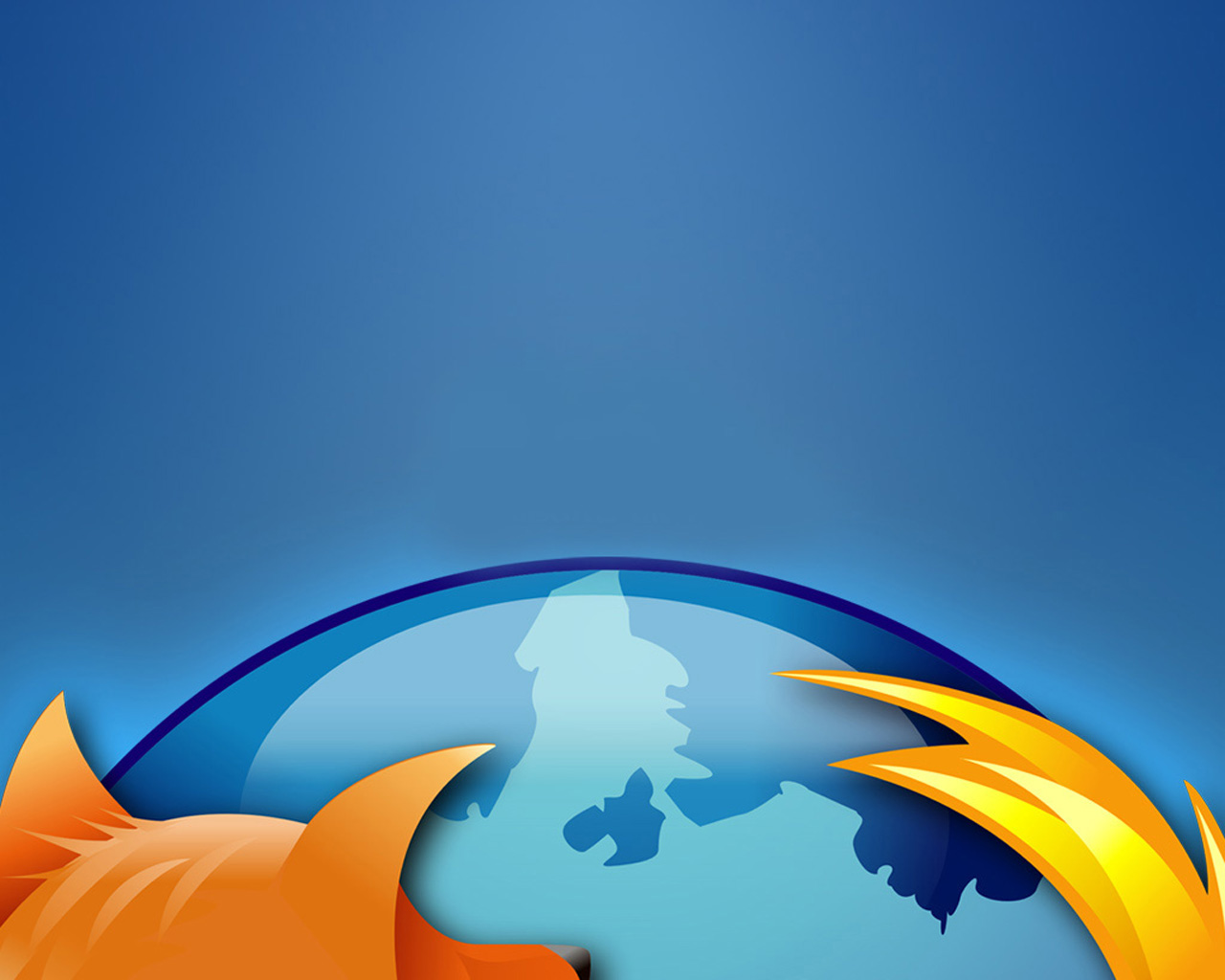 Mozilla Firefox Browser PPT Backgrounds