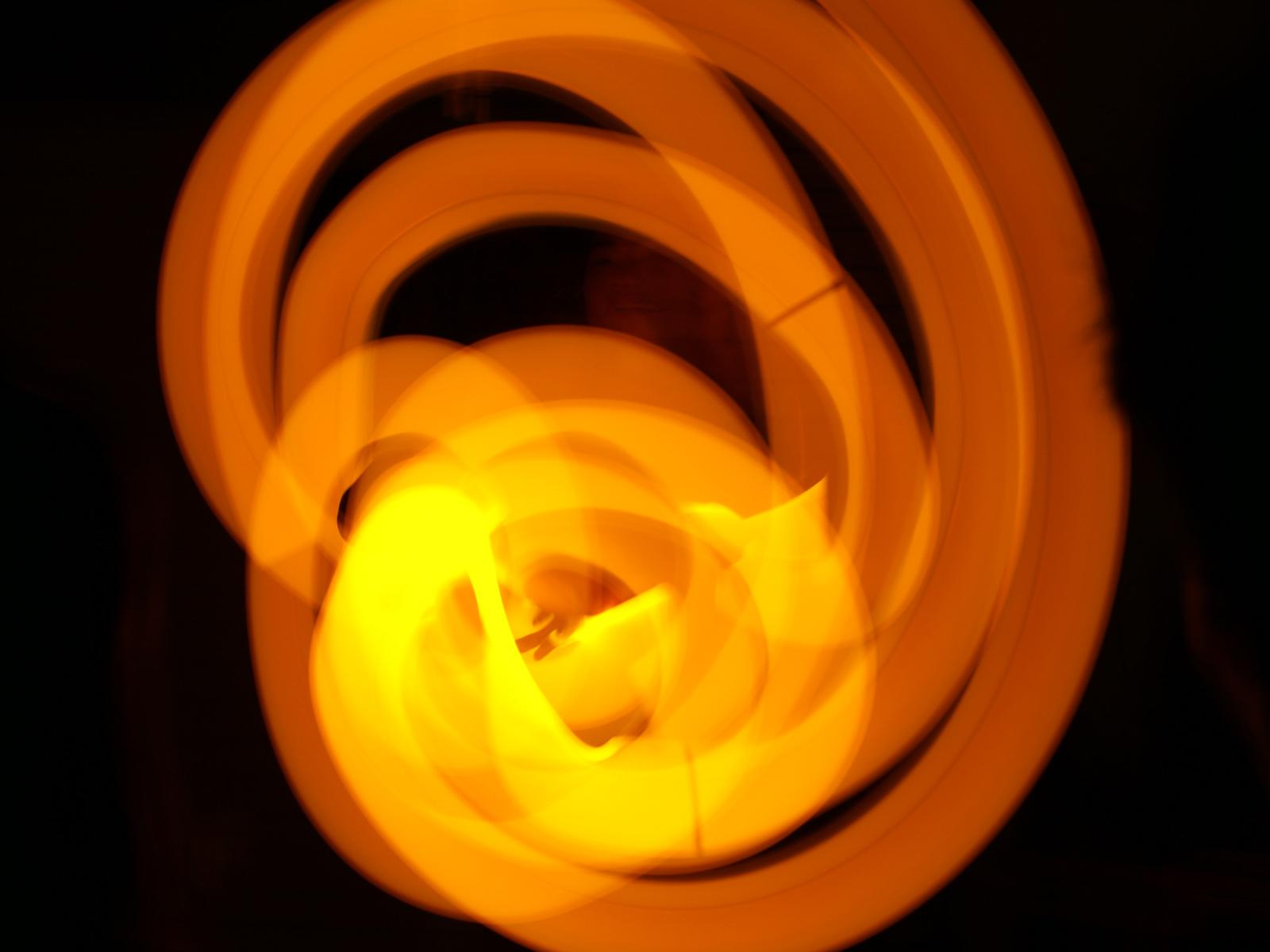 Orange Glowsticks PPT PPT Backgrounds