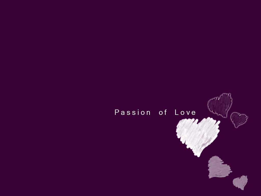 Passion of love PPT Backgrounds