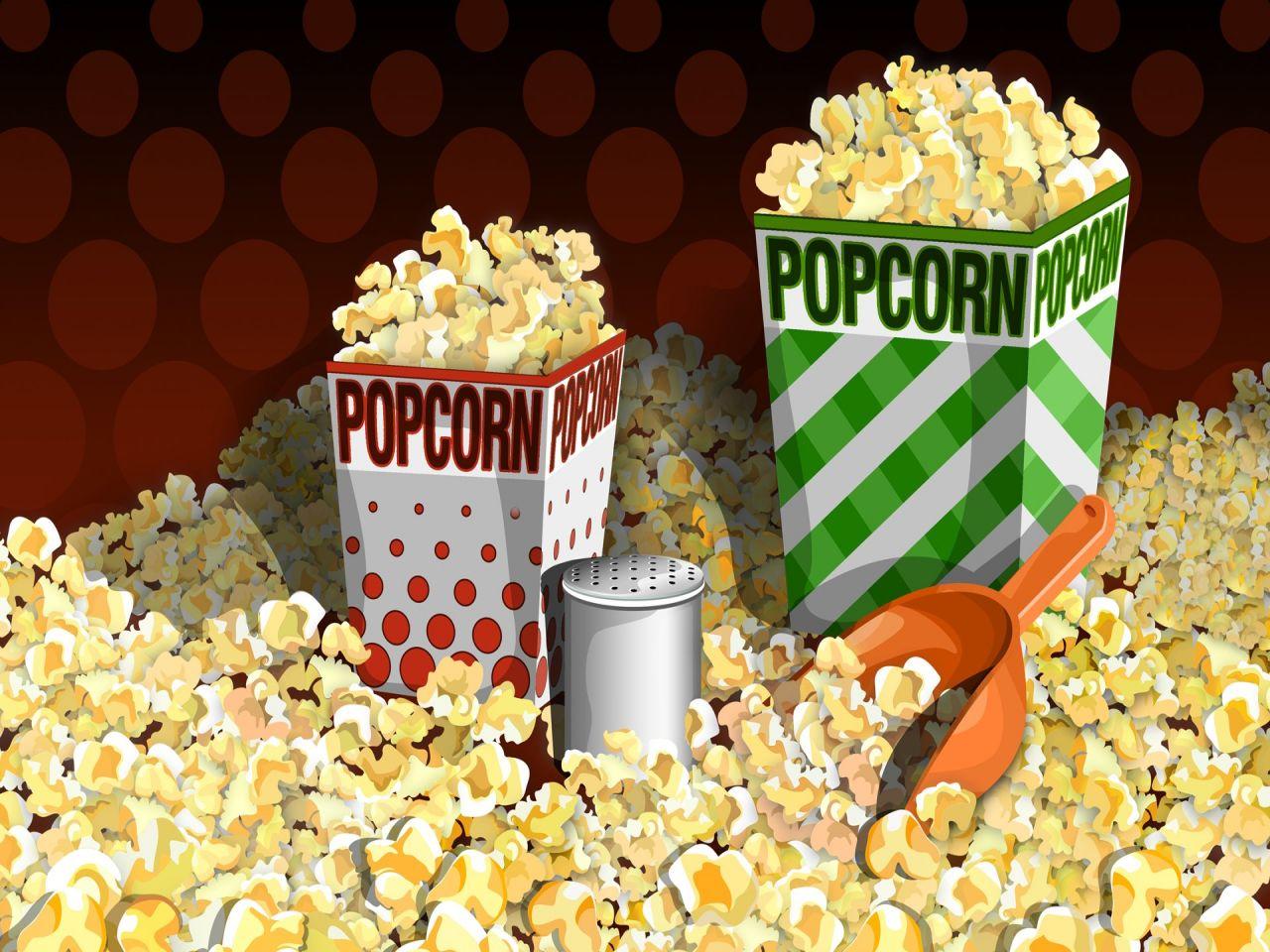 Popcorn PPT Backgrounds
