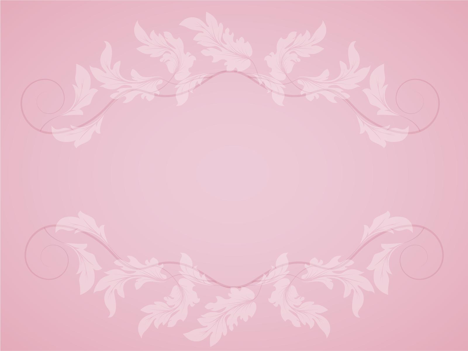 Rose Pink Color PPT Backgrounds