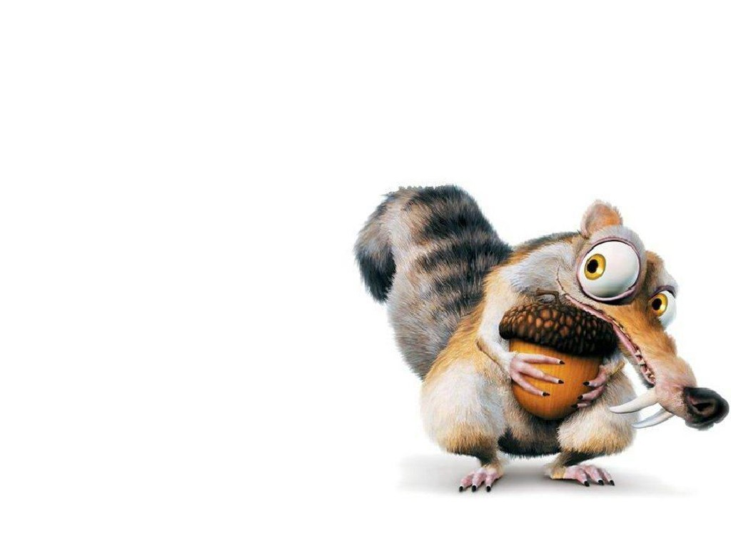 Scrat Ice Age PPT Backgrounds