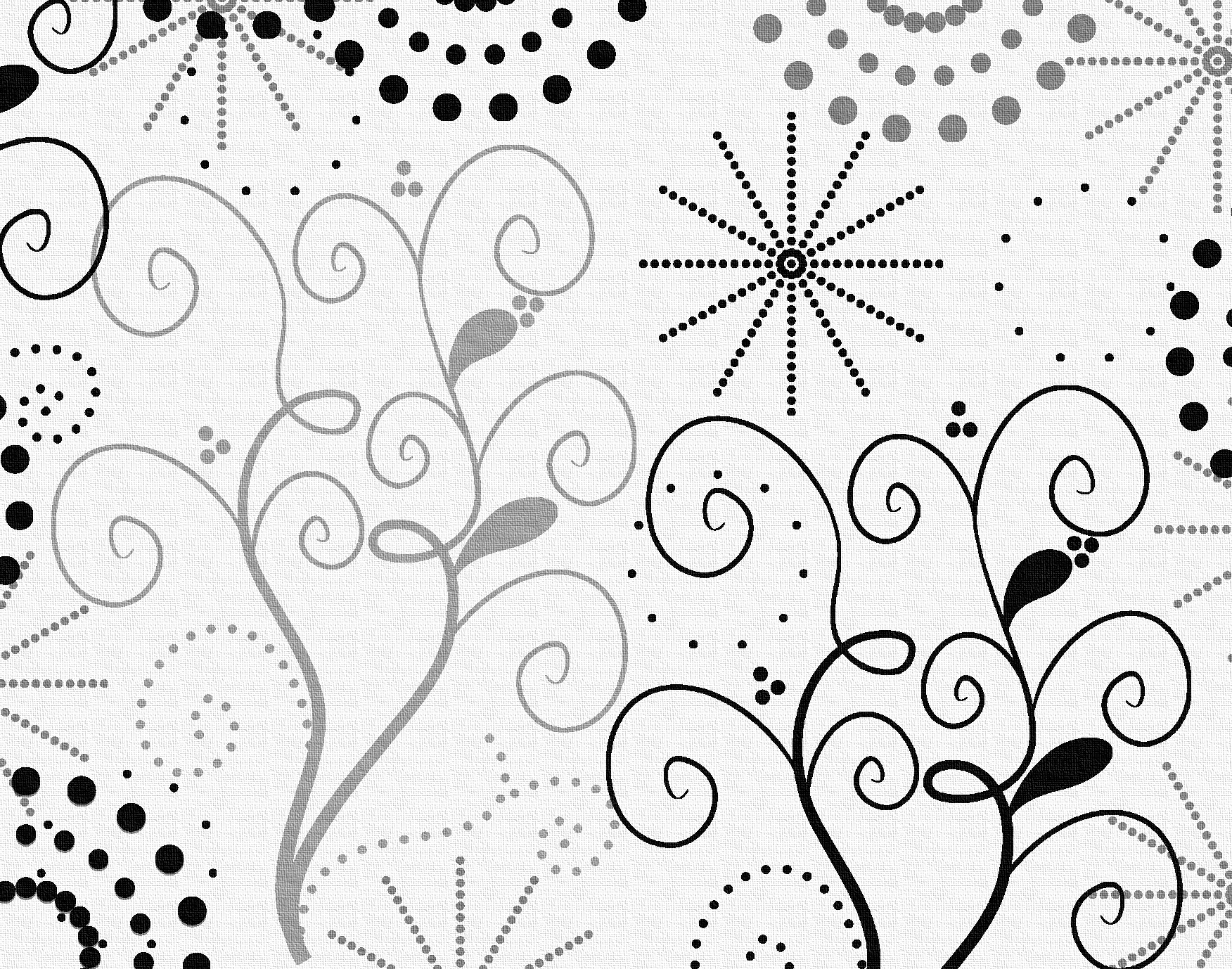 Swirls floral PPT Backgrounds