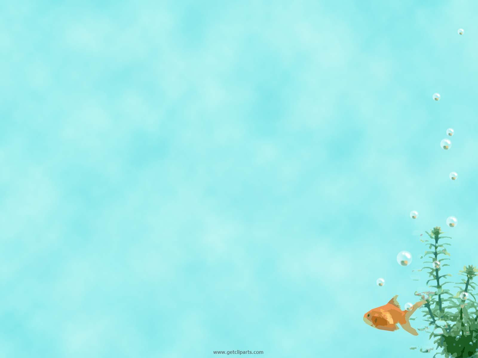 UnderWater Fish PPT Backgrounds