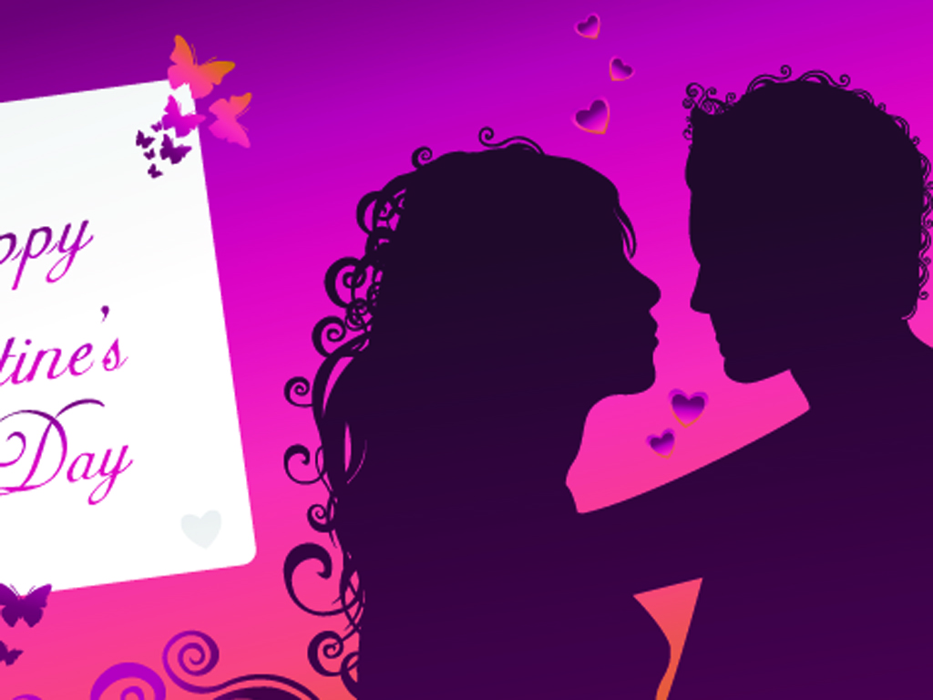 Valentine Day Card PPT Backgrounds