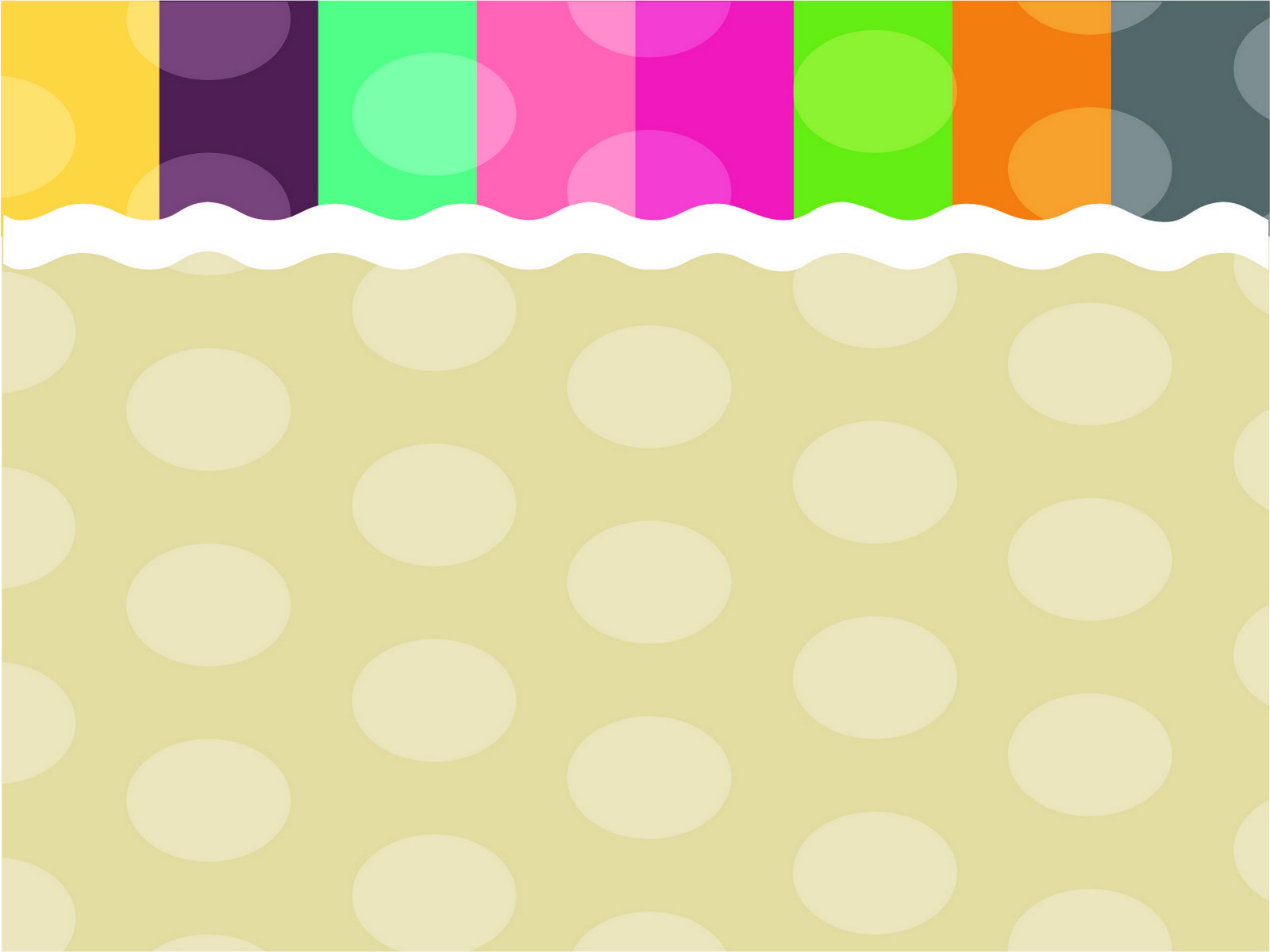 Wave And Color PPT Backgrounds