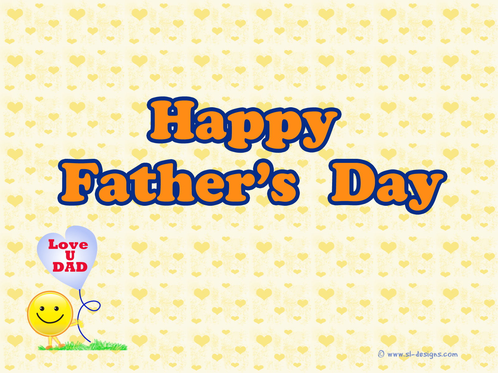 World Fathers Days PPT Backgrounds