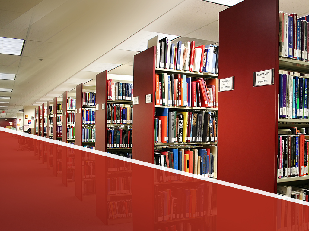 Book library PPT templates