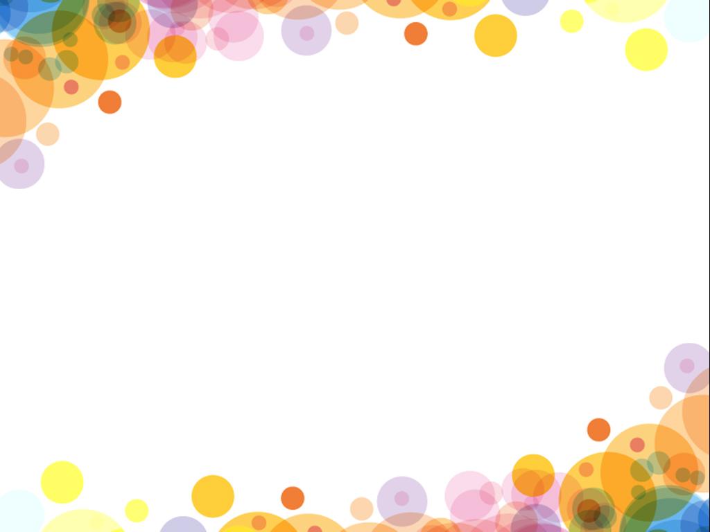Bubbles colourful design PPT templates