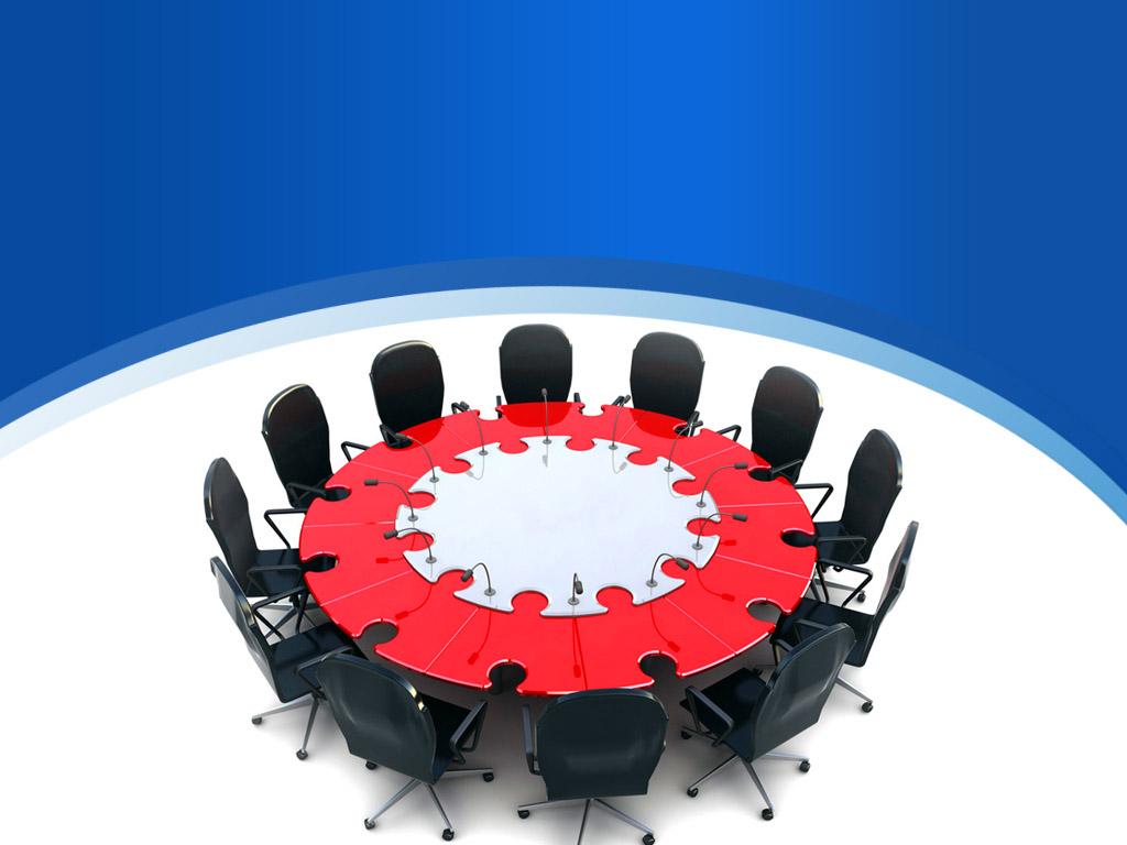 Business meeting presentation PPT templates
