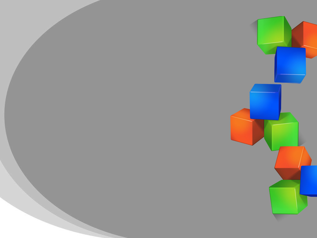 Colored Cubes Powerpoint PPT templates