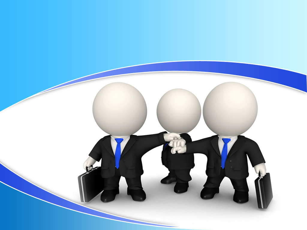 Marketing team in the business world PPT templates