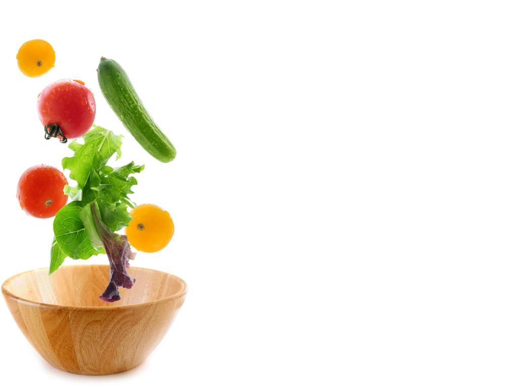 Salad Bowl Slide PPT templates